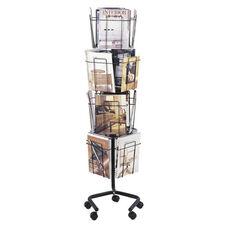 Safco Rotary Floor Display - 16 Pockets - 15