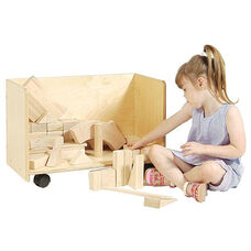 3 Sided Block Storage Unit - Assembled - 24