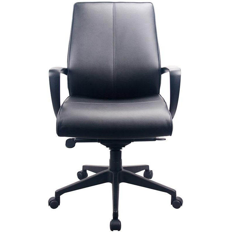 Our Tempur-Pedicu0026reg; Leather Mid Back Chair - Black is on sale ...  sc 1 st  School Furniture 4 Less & TempurPedic Leather Mid Back TP350 | SchoolFurniture4Less.com