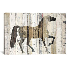 Dark Horse by Michael Mullan Gallery Wrapped Canvas Artwork