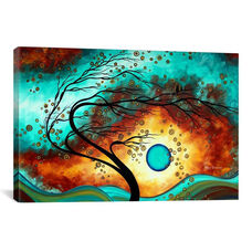 Family Joy by Megan Duncanson Gallery Wrapped Canvas Artwork