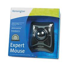 Kensington® Trackball Expert Mouse - ScrollRing - Black/Silver