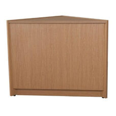 Circulation Closed Corner Unit with Laminate Top - 42