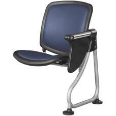 Ready Link Row Add-On Chair with Tablet - Blue
