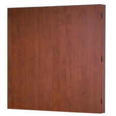 OSP Furniture Kenwood Hardwood Veneer Presentation Board with Dry Erase Surface