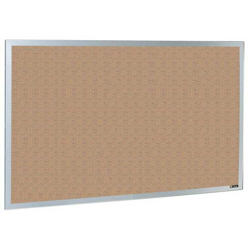 Our Quick Ship 800 Series Type CO Aluminum Frame Tackboard - Nucork - 36