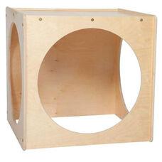 Giant Crawl Thru Baltic Birch Plywood Play Cube with Tuff-Gloss UV Finish - Assembled - 29