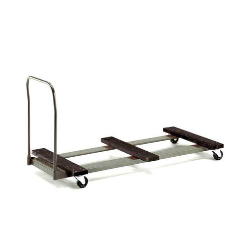 Our Standard Duty Rectangular Table Caddy with Swivel Stem Casters - 31.25