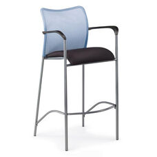 Inertia Mesh Back Bar Stool