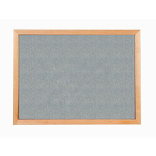 213 Series Tackboard with Angle Wood Face Frame - Claridge Cork - 48