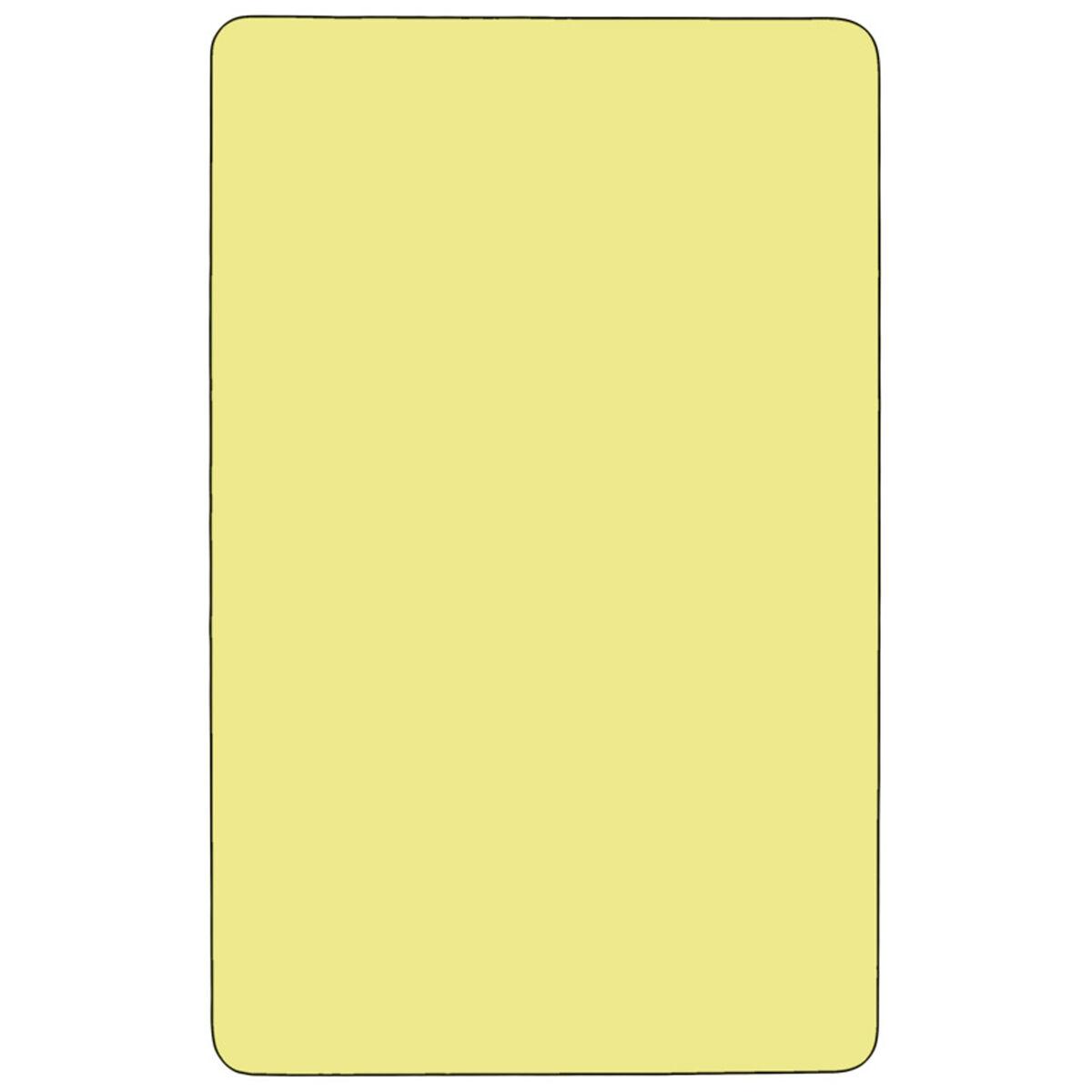 24x48 Yellow Activity Table Xu A2448 Rec Yel T A Gg