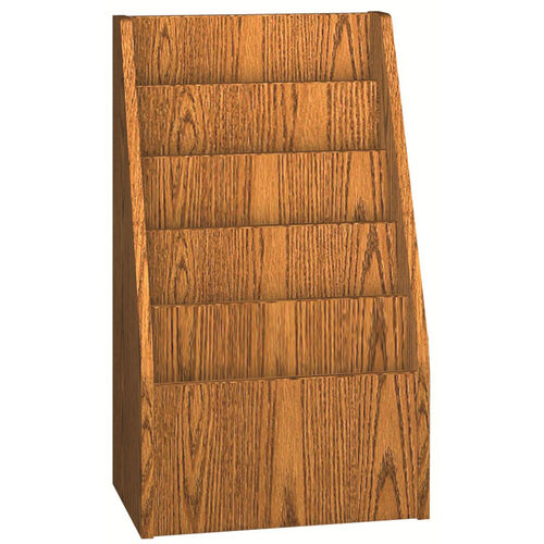 Our 6 Pocket Magazine Display - Particle Board Construction is on sale now.