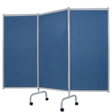 Designer 3 Panel Steel Frame Privacy Screen