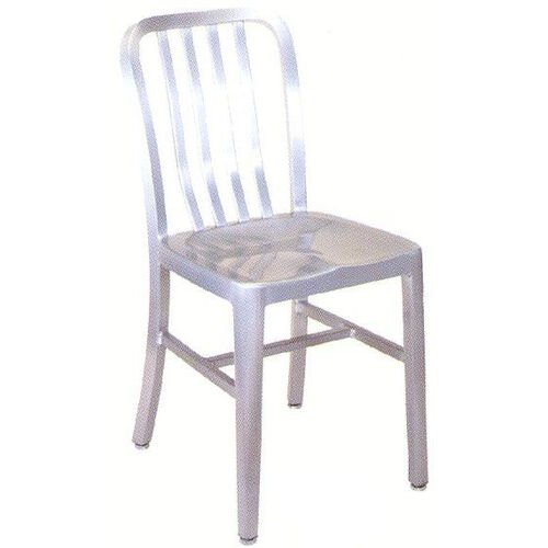 Our Armless Slat Back Aluminum Chair is on sale now.