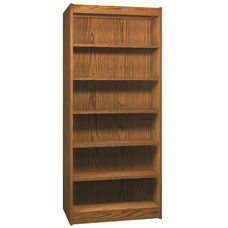6-Shelf Double Sided Bookcase Starter