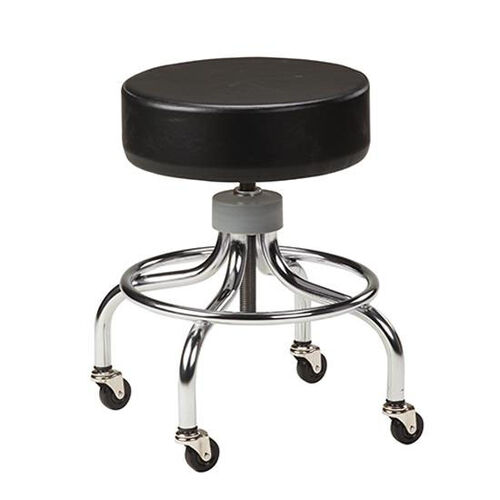 Our Adjustable Stool - Chrome Base and Foot Ring is on sale now.