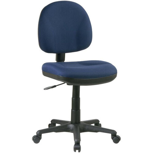 Our Work Smart Sculptured Deluxe Task Chair - Black is on sale now.