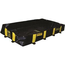 Rigid-Lock QuickBerm® with 235 Gallon Capacity - Black
