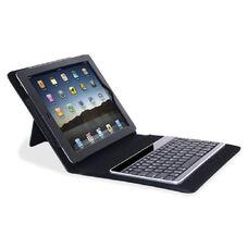 Compucessory Keyboard/Cover Case (Portfolio) for iPad - Tan - Plastic