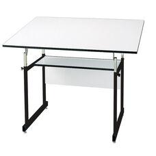 Black WorkMaster Jr Drawing Table - 36