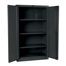 DuraTough Classic Series Extra Heavy Duty Storage Cabinet - Assembled - Charcoal - 48