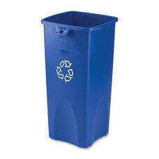 Rubbermaid Commercial Products Square Recycling Container - 14.5