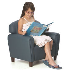 Just Like Home Enviro-Child Preschool Size Chair - Blue - 26