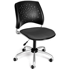 Stars Swivel Chair - Slate Gray