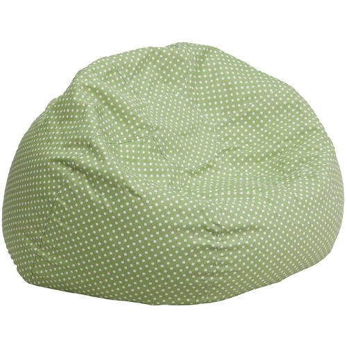 Our Oversized Green Dot Bean Bag Chair is on sale now.
