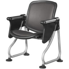 Ready Link Row Starter Chair with Tablet - Charcoal