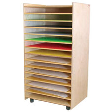 Puzzles, Paper, and Games Rack - Assembled - 27