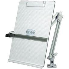 Metal Flex Arm Copy Holder - Platinum