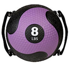 8 lbs. Rhino Ultra-Grip Medicine Ball in Purple