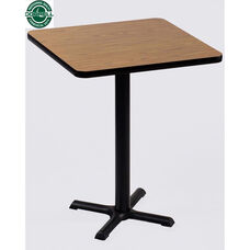 Laminate Top Square Cafe Table with 42
