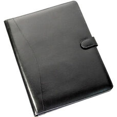 iPad Holder and Writing Portfolio - Aristo Bonded Leather - Black