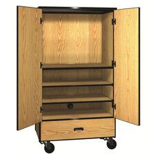 Denali 1000 Series Video Center Storage Cabinet