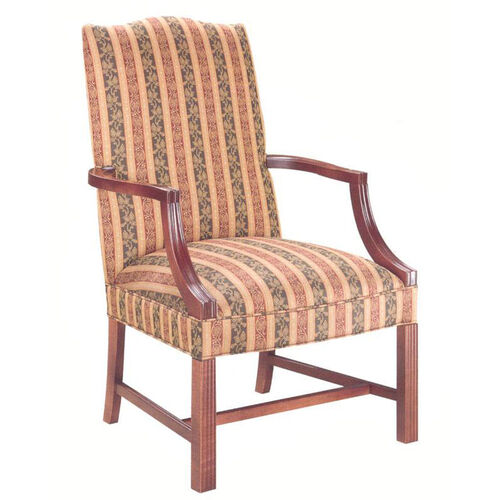 Our 5022 Lounge Chair: Martha Washington w/ Chippendale Legs - Grade 1 is on sale now.
