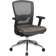 Pro-Line II Executive ProGrid High Back Office Chair - Grey