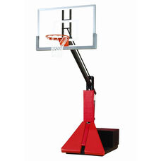 Glass Max Portable Adjustable Basketball System