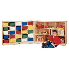 25 Tray Cubbie Fold-n-Lock Storage Unit