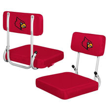 University of Louisville Team Logo Hard Back Stadium Seat