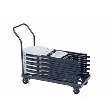 Welded Iron Folding Chair Truck with 4