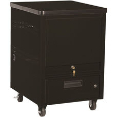 LapTop Depot 5 Capacity Cart - Black