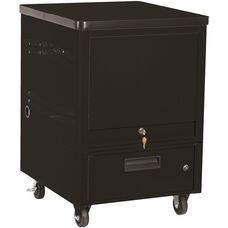 LapTop Depot 5 Capacity Cart - Black