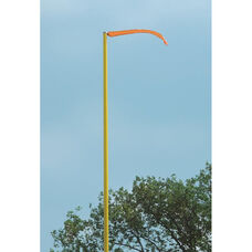 Football Wind Direction Weather Resistant Streamer - Set of 4 - Orange