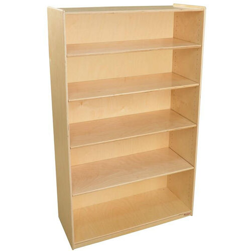 Our Wooden 5 Shelf Bookcase with 4 Adjustable Shelves - 36