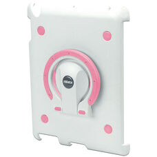 MultiStand for iPad 2 - White Shell with White and Pink Ring