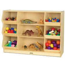 9 Compartment Bin Storage Shelf