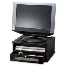 Victor Technology Midnight Black Coll. Wood Monitor Riser
