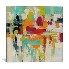 Summer Silk Road by Sylvia Vassileva Gallery Wrapped Canvas Artwork